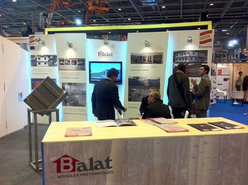 Batimat - Stand balat Modulos prefabricados