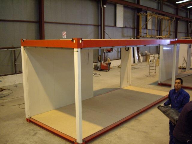Casetas desmontables balat modulos prefabricados for Casetas de madera prefabricadas leroy merlin