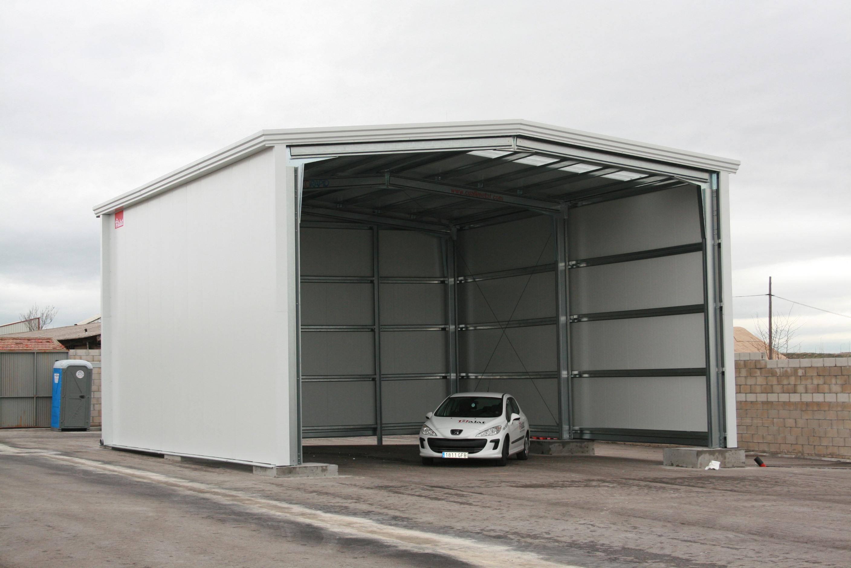 Garajes prefabricados de hormigon materiales de for Naves prefabricadas de ocasion