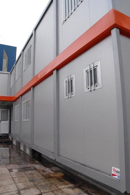 Oficina modular balat de 290 m2 para sector minero aviles for Oficina prefabricada