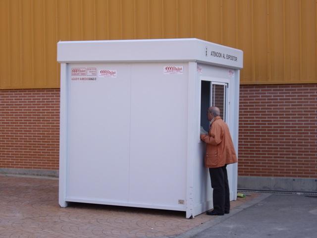 Cabinas de vigilancia casetas de vigilancia balat - Casetas prefabricadas leroy merlin ...