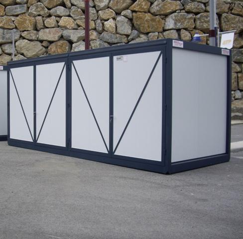 Casetas prefabricadas almacenes desmontables almacenes for Casetas metalicas prefabricadas