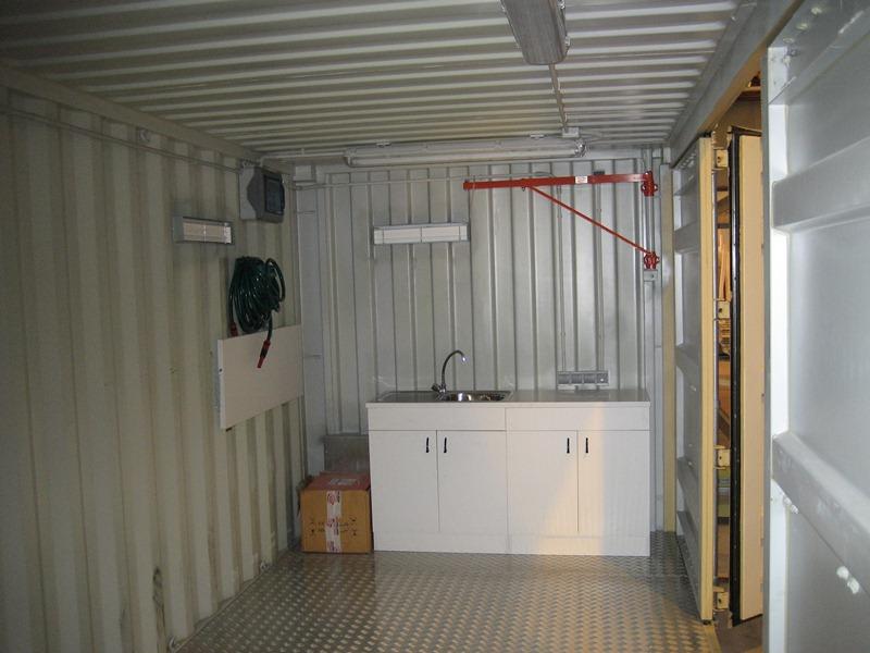 Transformaci n contenedor mar timo balat modulos - Como hacer una casa con un contenedor maritimo ...
