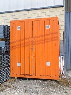 M dulos prefabricados almac n de residuos balat for Casetas almacenaje exterior