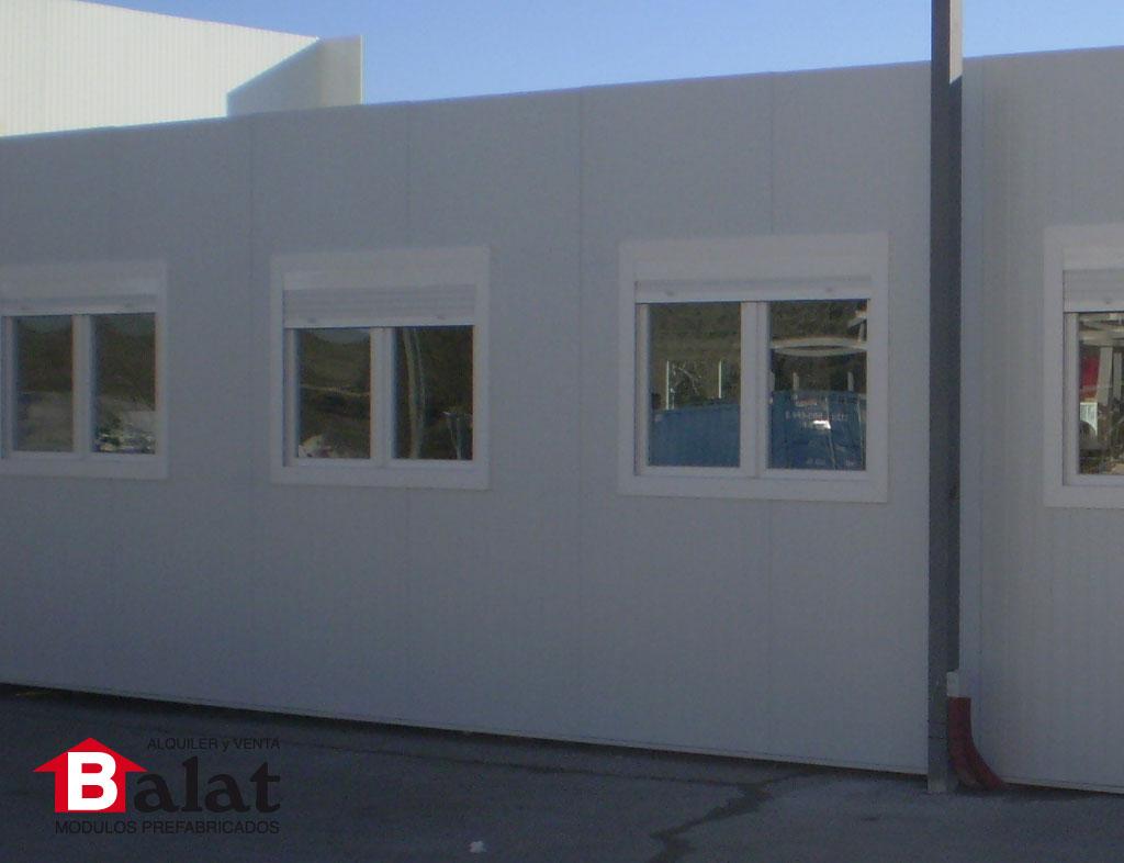 Oficinas prefabricadas bbva balat madrid construccion for Oficinas bbva toledo