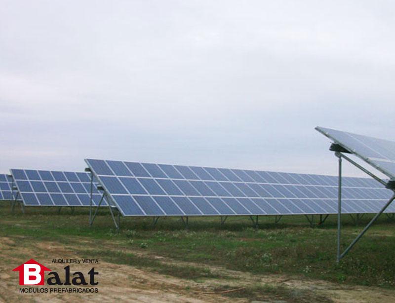 Casetas y Paneles fotovoltáicos croacia Balat modulos prefabricados