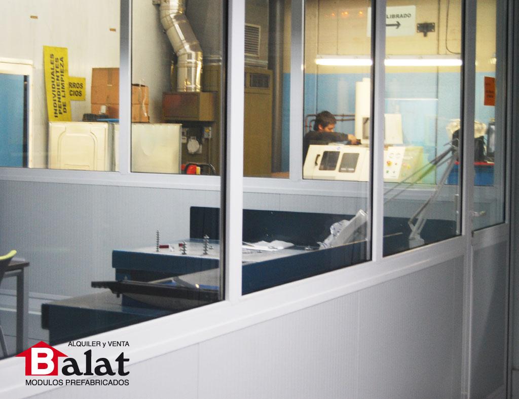 Oficinas modulares prefabricadas en pamplona balat for Construccion de oficinas modulares