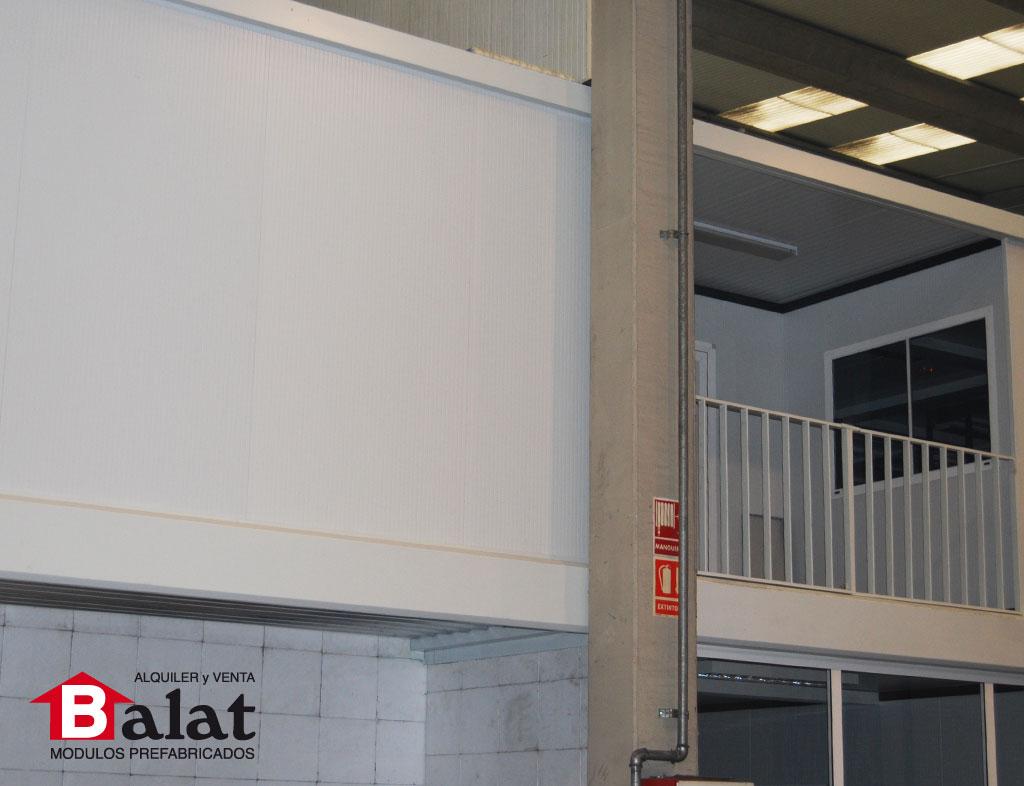 Oficinas modulares prefabricadas en pamplona balat construcci n modular - Balat modulos prefabricados ...