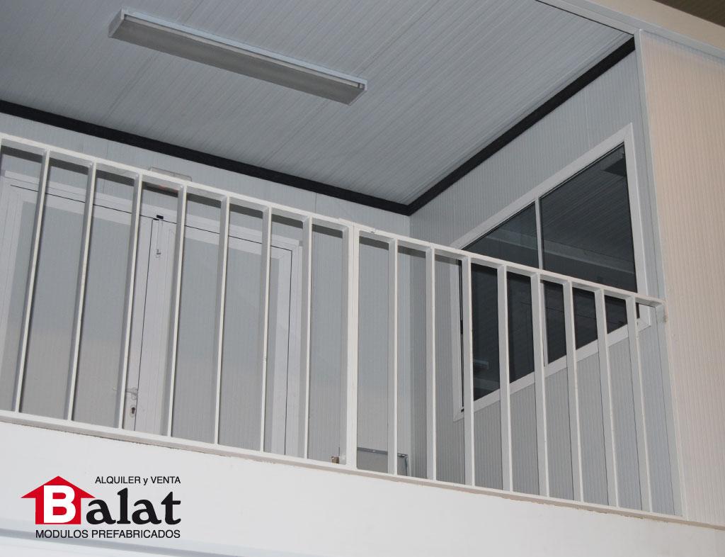 Oficinas modulares prefabricadas en pamplona balat - Balat modulos prefabricados ...