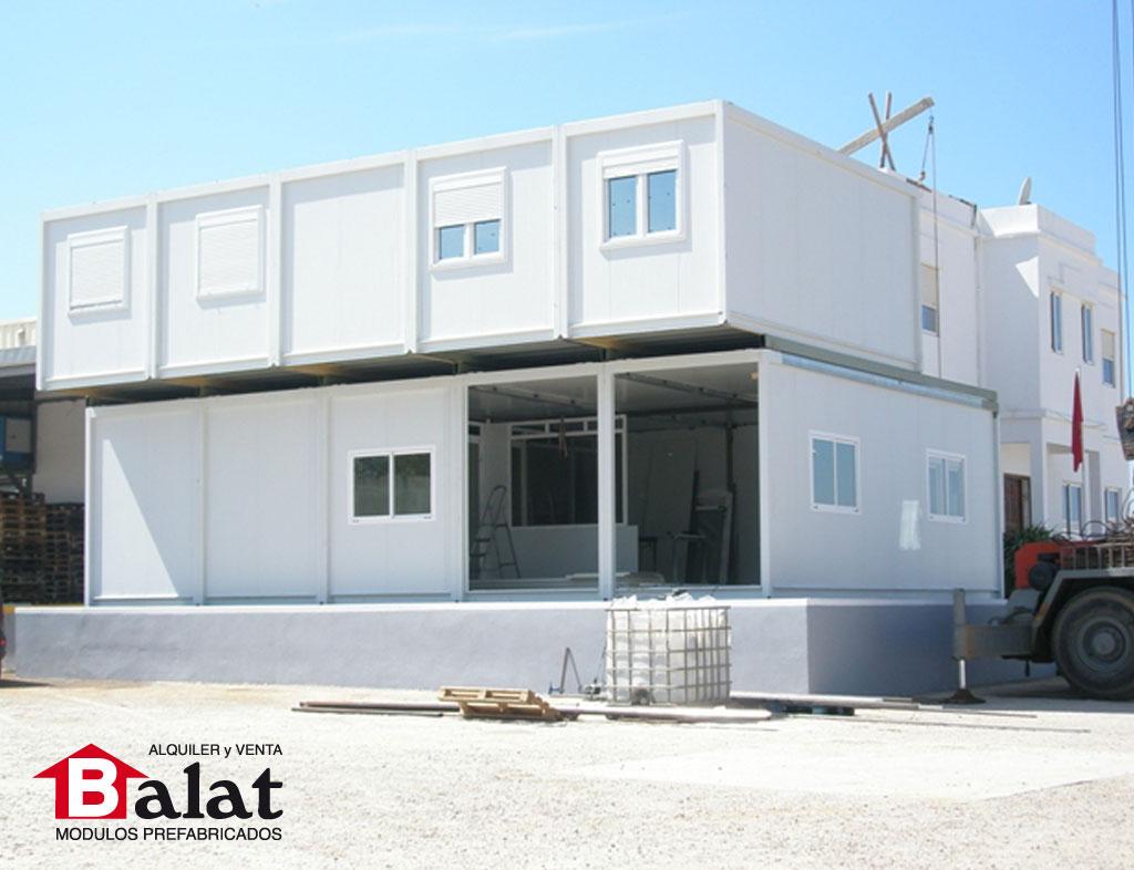 Casa de modulos prefabricados dise os arquitect nicos for Modulos para oficina