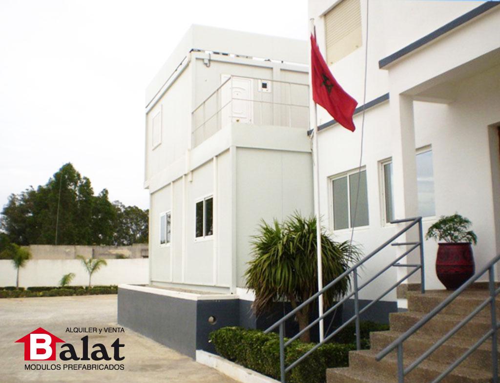 Modulos prefabricados de balat oficinas y viviendas en for Modulos para oficina precios
