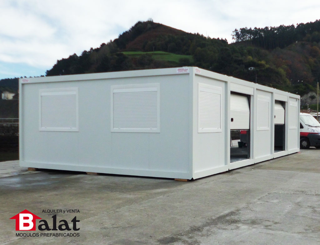 Conjunto modular di fano en ondarroa balat proyectos - Balat modulos prefabricados ...