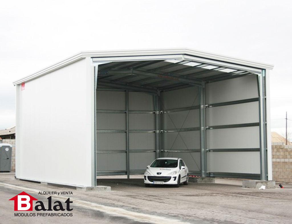 Nave prefabricada y oficinas modulares proyectos balat naves for Construccion de oficinas modulares