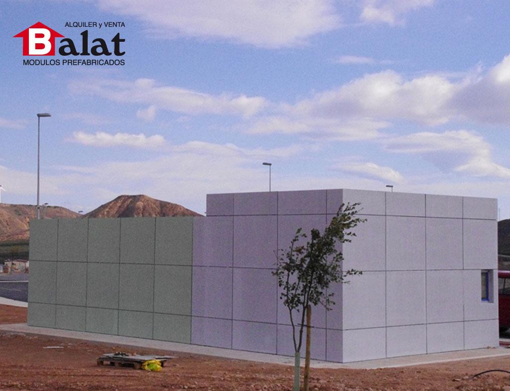 Conjunto modular de vigilancia en arnedo proyectos balat - Balat modulos prefabricados ...