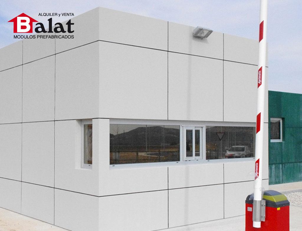 Conjunto modular vigilancia en Arnedo - Proyectos Balat