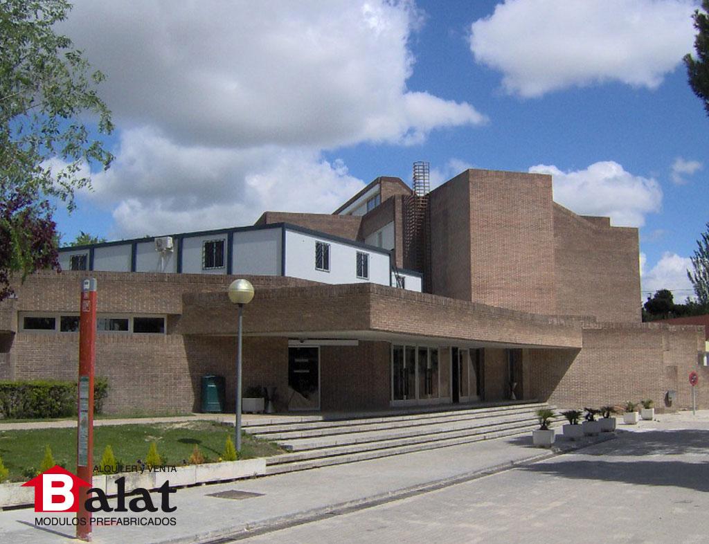 Aulas prefabricadas Universidad de Comillas - BALAT