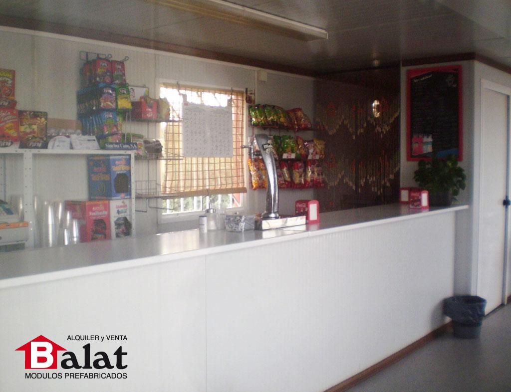 Kiosko prefabricado en vicalvaro madrid proyectos balat - Balat modulos prefabricados ...