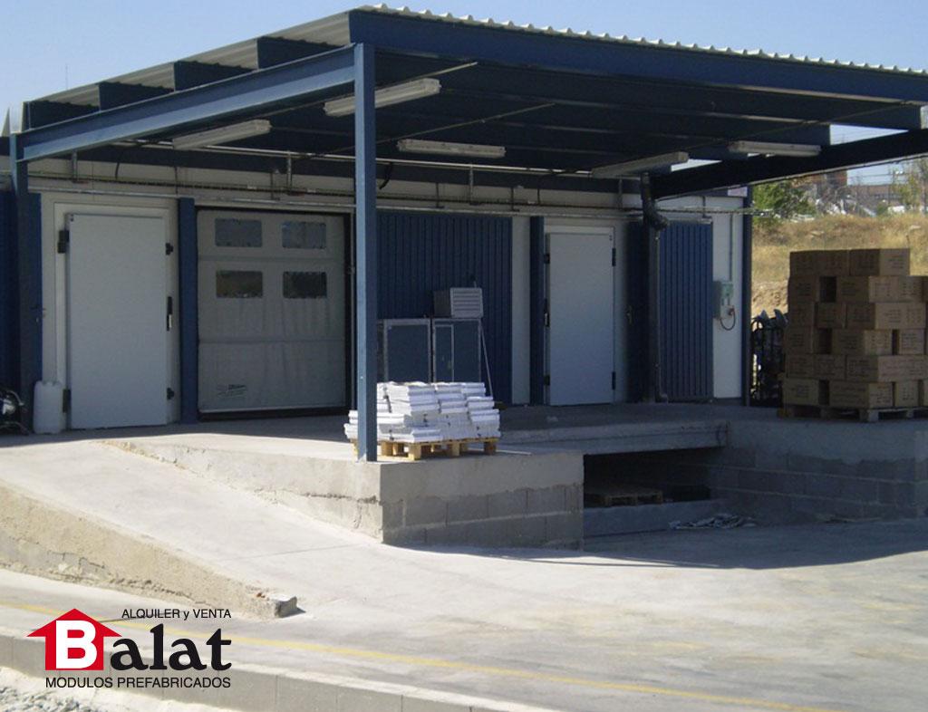 M dulos prefabricados balat para la empresa wagonlit proyectos balat - Modulos metalicos prefabricados ...