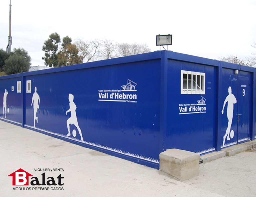 Vestuarios modulares archives balatbalat - Balat modulos prefabricados ...
