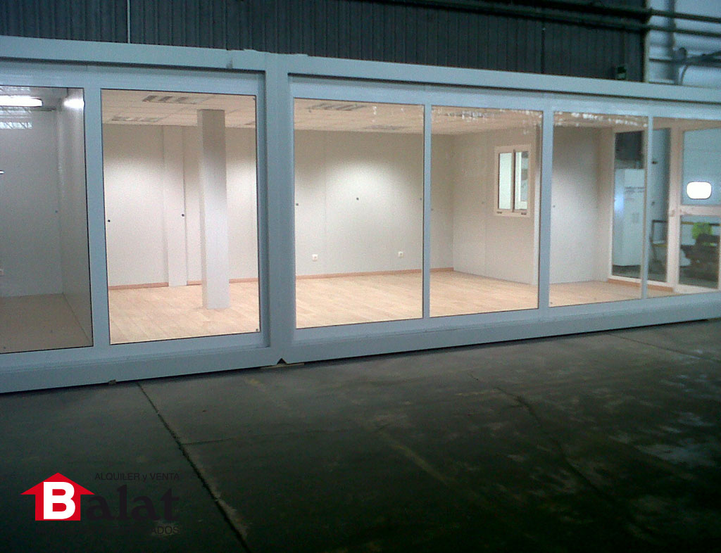 Oficinas modulares archives balatbalat for Oficina prefabricada