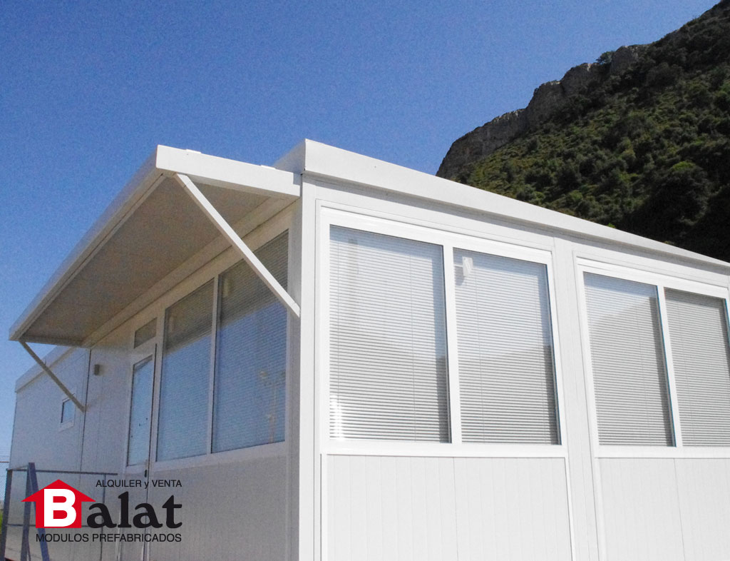 M dulos prefabricados para petronor en bilbao proyectos - Balat modulos prefabricados ...