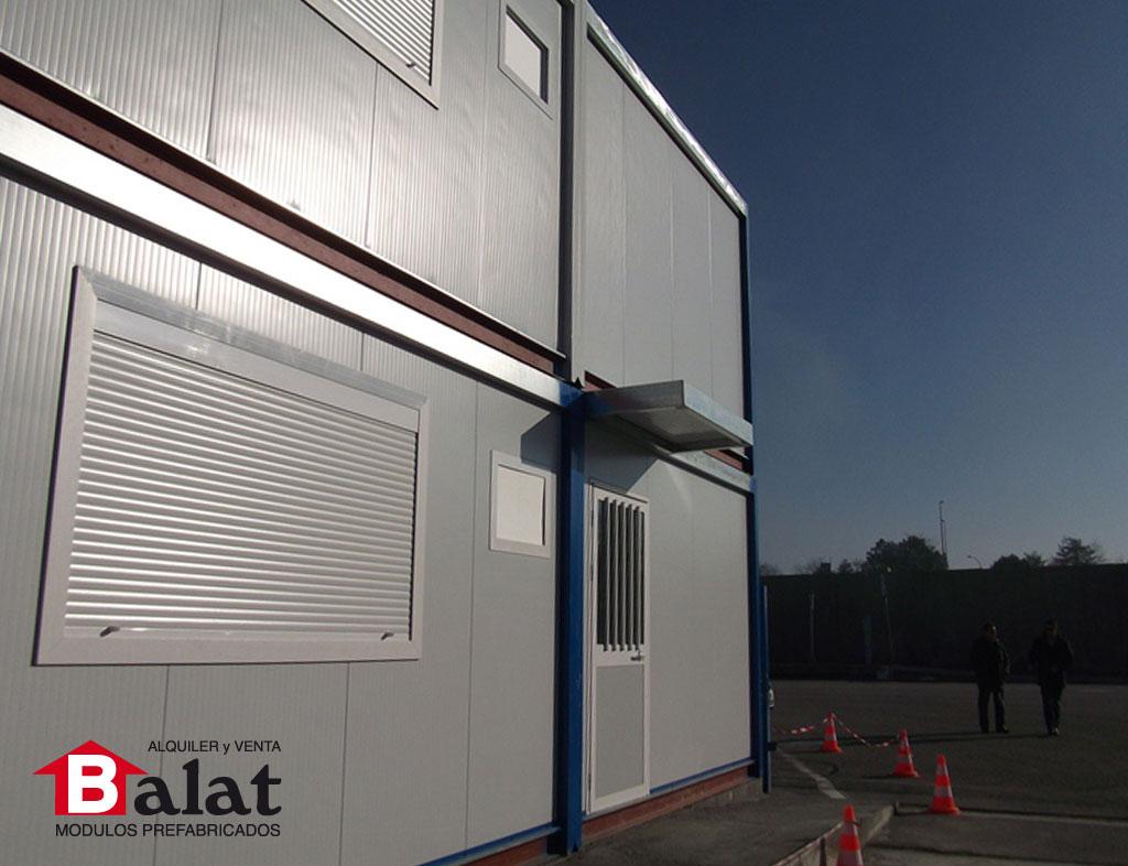 Oficinas prefabricadas a dos alturas en bayona francia - Balat modulos prefabricados ...