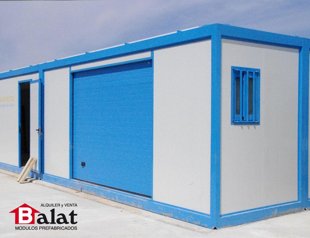 Casetas prefabricadas planta solar en pradej n para - Casetas de resina leroy merlin ...