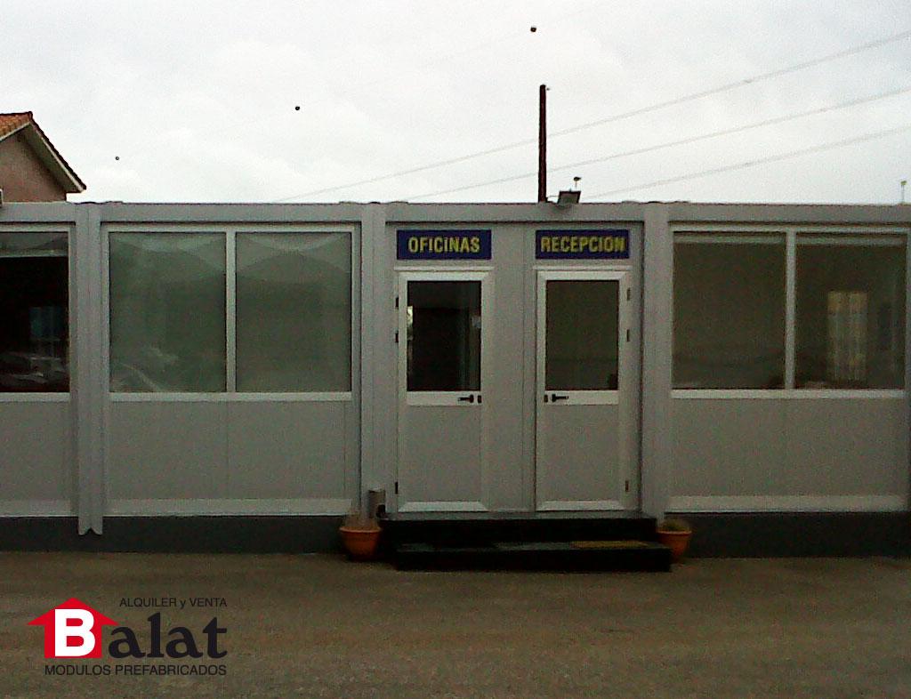 Oficina prefabricada para carrocer as anjore con for Oficina prefabricada