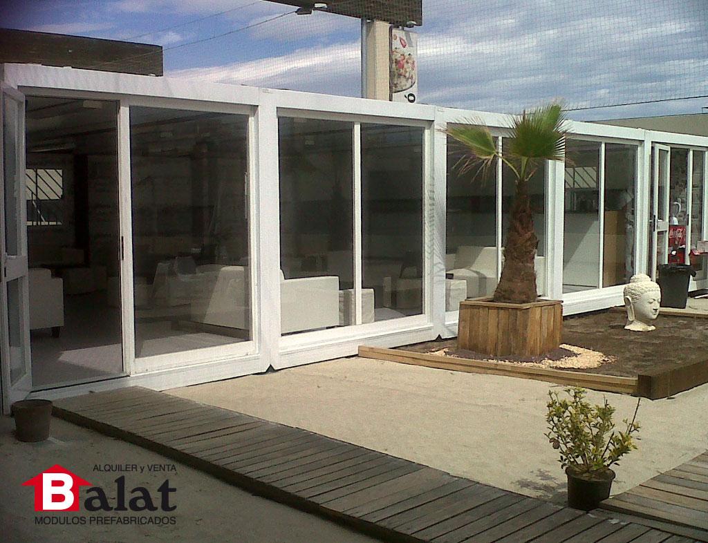Bar prefabricado en playa de barcelona proyectos balat for Bares prefabricados precio