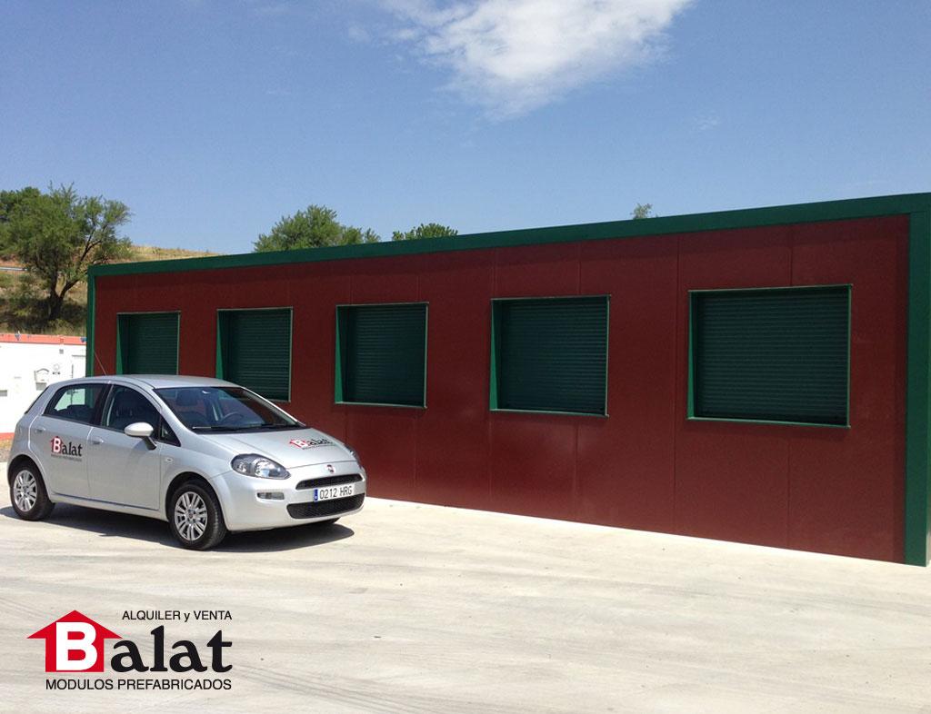 Oficina prefabricada en arnedo proyectos balat for Oficina prefabricada