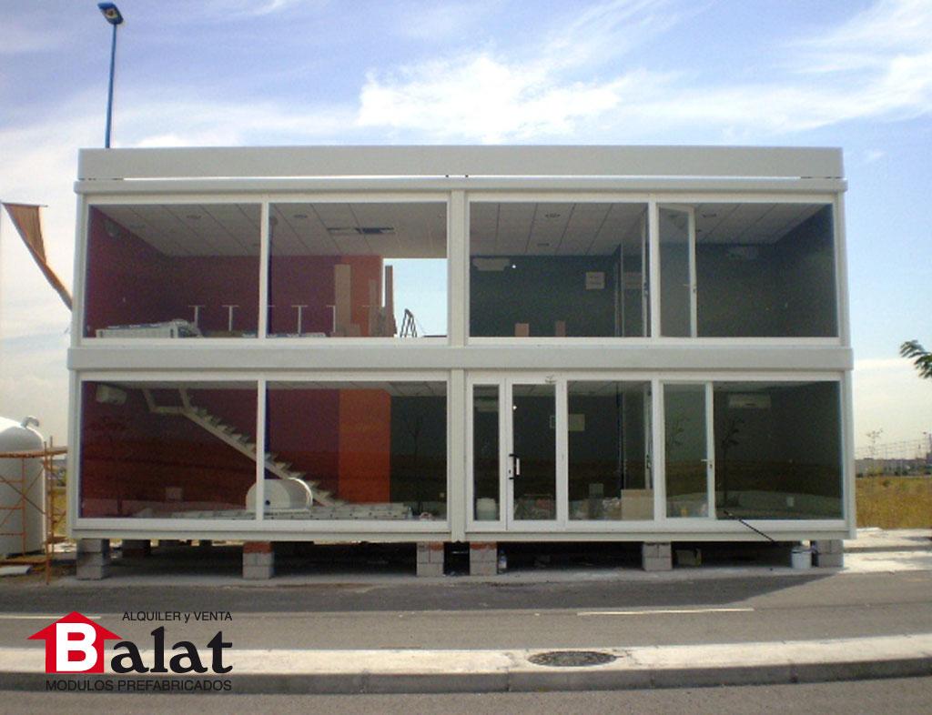 Oficinas prefabricadas en legan s 39 soho 39 proyectos balat for Construccion de oficinas modulares