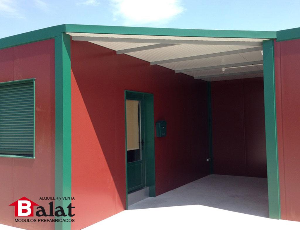 Oficina prefabricada en arnedo proyectos balat - Balat modulos prefabricados ...