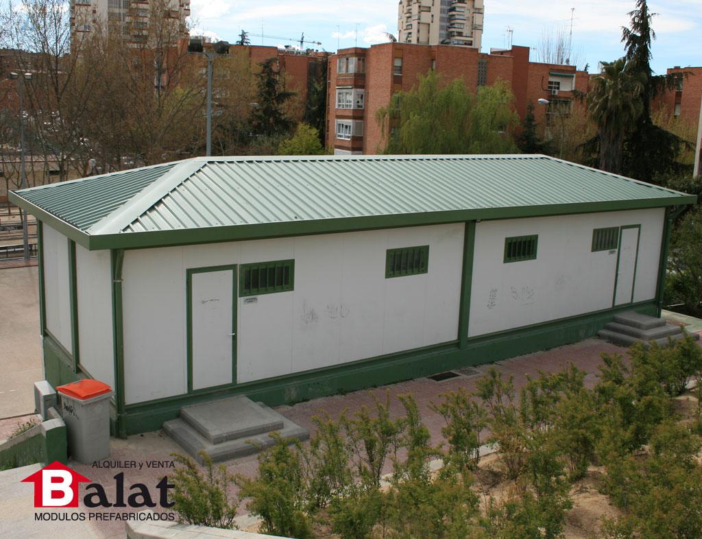 Casetas prefabricadas como vestuarios para el club la - Balat modulos prefabricados ...