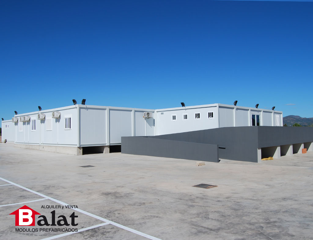 Aulas prefabricadas para cursos de formaci n en b tera balat - Balat modulos prefabricados ...