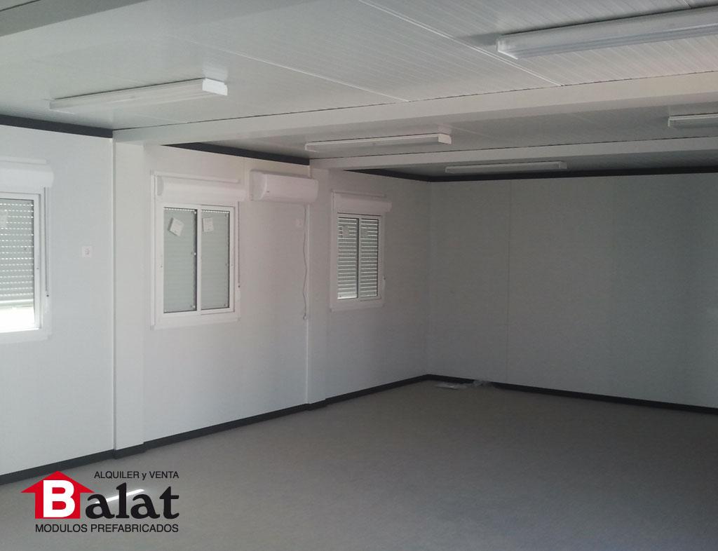 Aulas prefabricadas en ibiza para el morna valley school - Balat modulos prefabricados ...