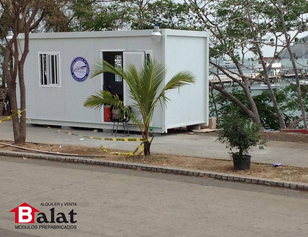 Caseta prefabricada para aduanas de panam balat panam - Balat modulos prefabricados ...