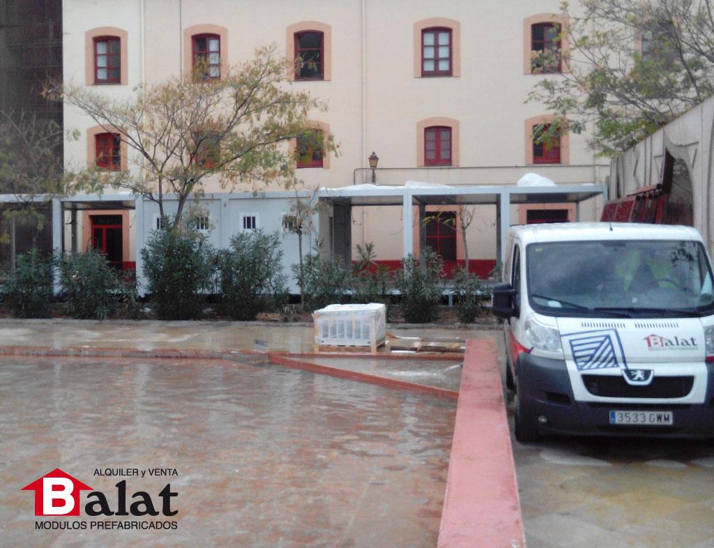 Conjunto modular para albergue en la ciudad de zaragoza - Balat modulos prefabricados ...