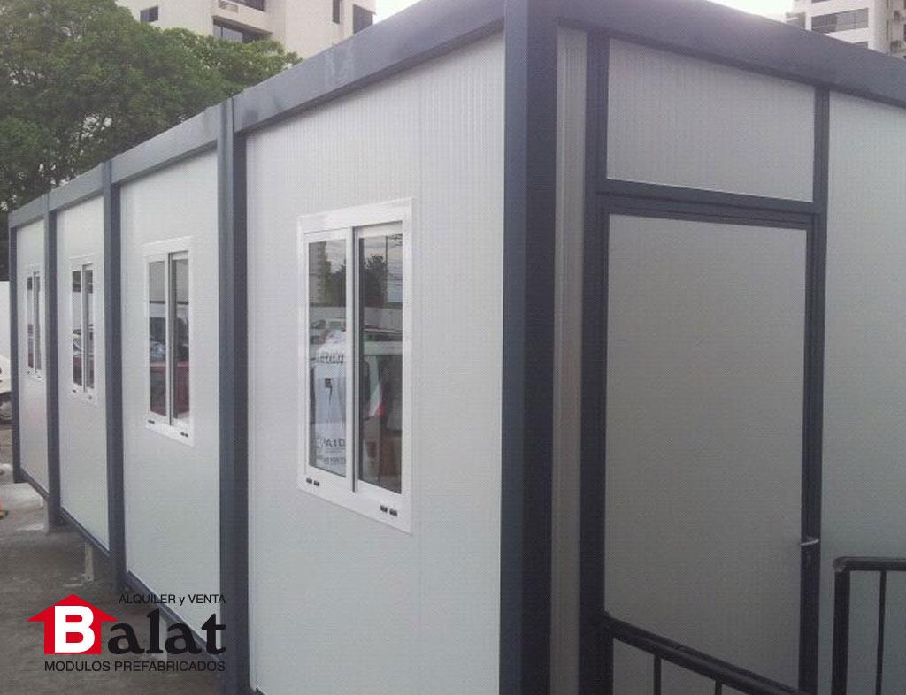 Oficina prefabricada para instalaciones de almac n de for Oficina prefabricada
