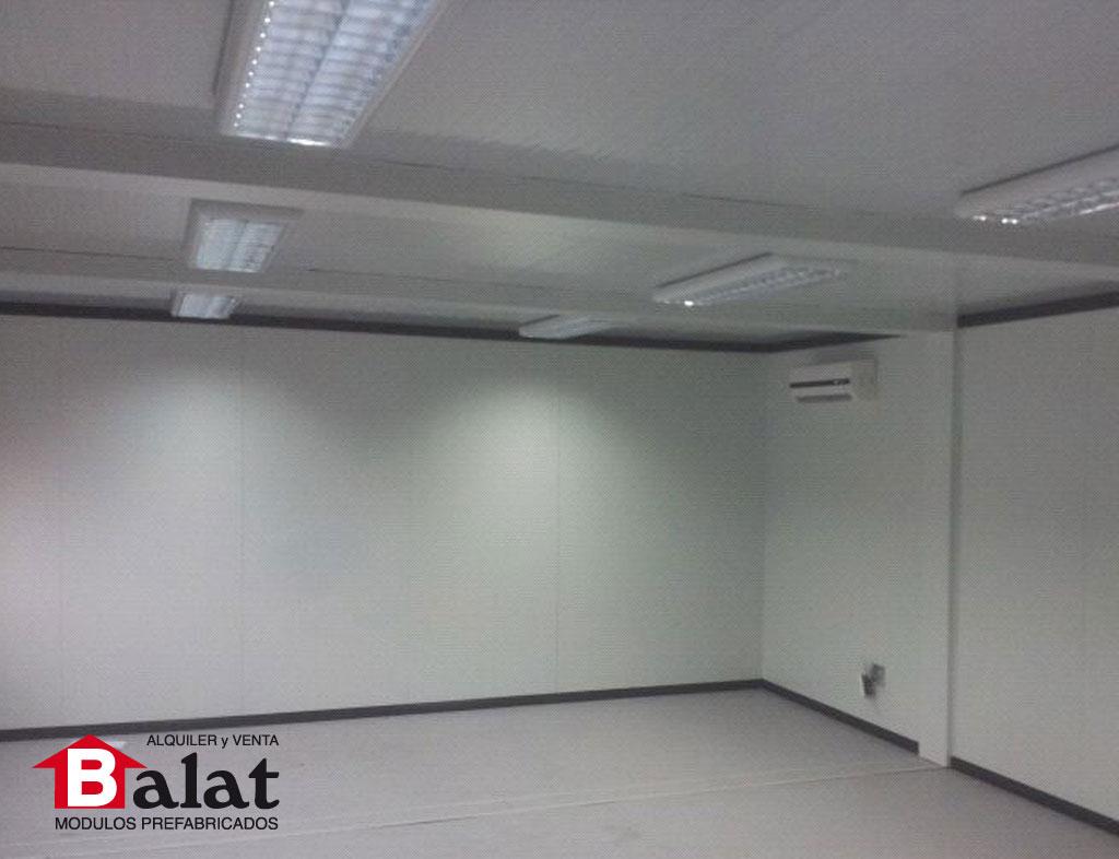 Oficina prefabricada para instalaciones de almac n de kuehne nagel - Balat modulos prefabricados ...