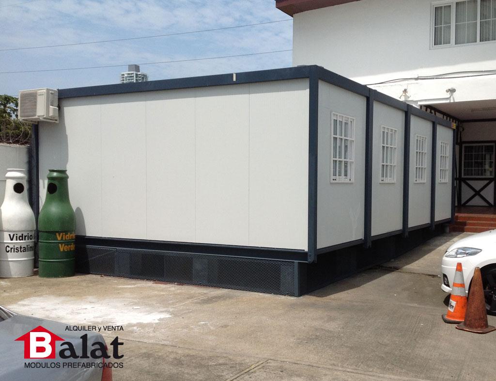oficina prefabricada para instalaciones de almac n de