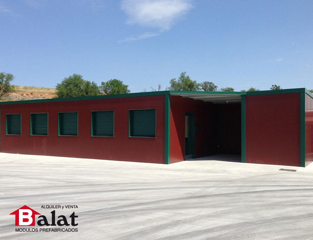 Oficinas prefabricadas personalizadas para empresa de - Balat modulos prefabricados ...