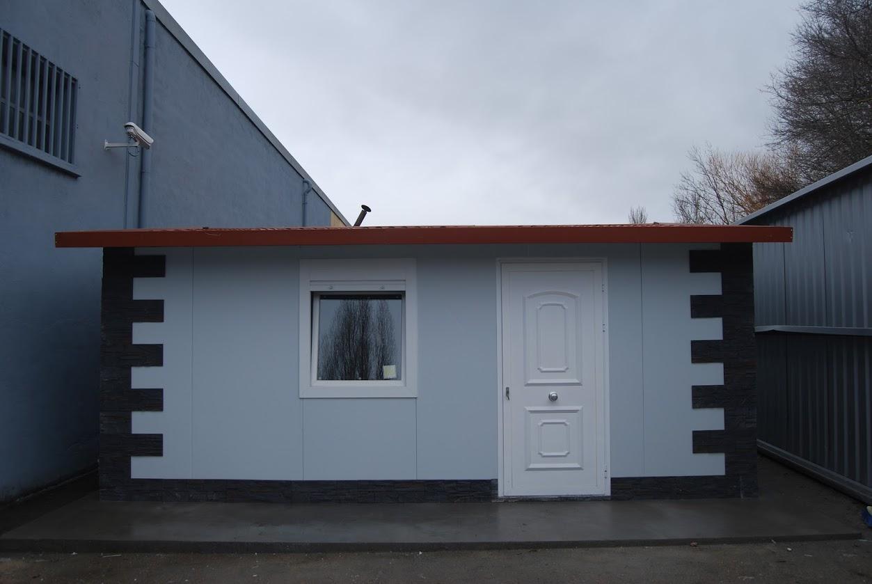 Ya tenemos nuestra casa prefabricada en nuestras oficinas - Casa prefabricada navarra ...