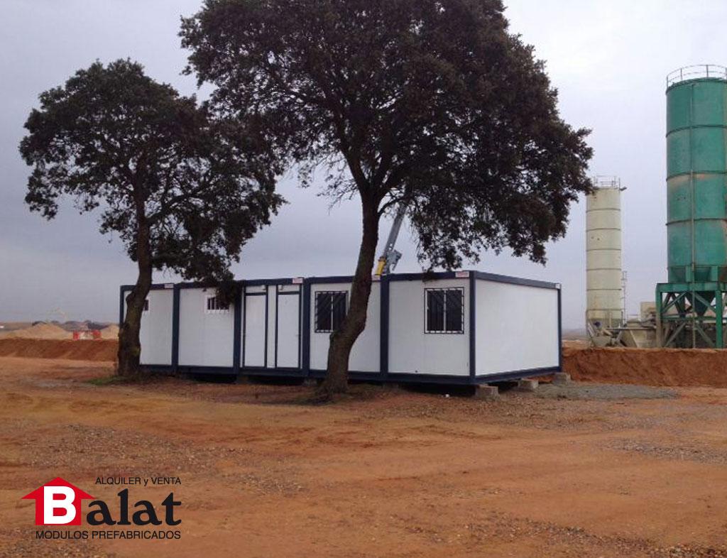 Balat casetas de obra para la autov a de benavente - Balat modulos prefabricados ...