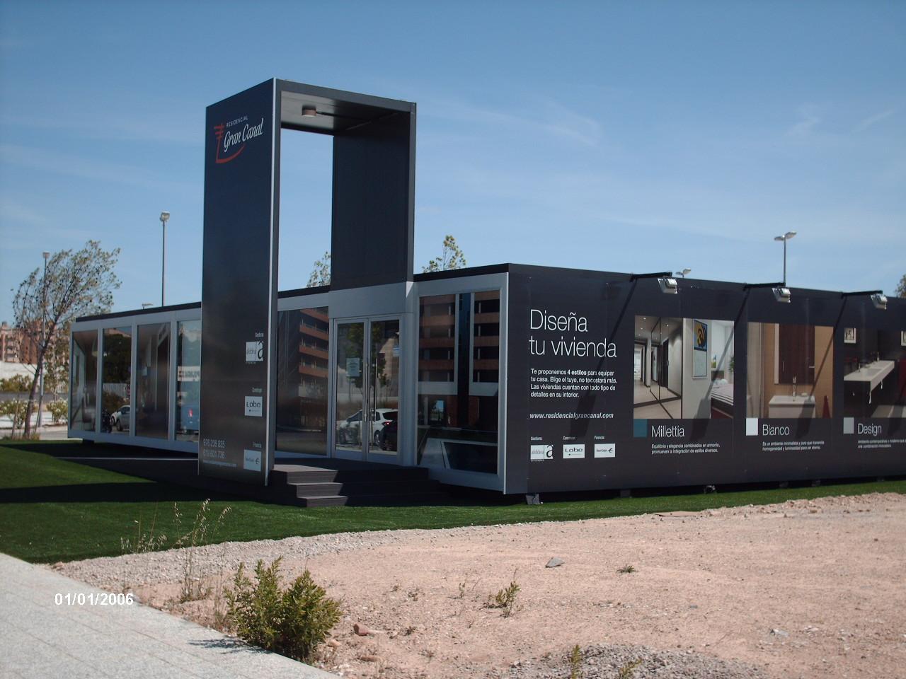 Balat construcci n modular para lobe en parque venecia for Construccion modular prefabricada