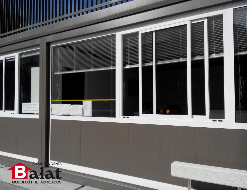 Balat proyecto modular con terraza de cova solera balat - Balat modulos prefabricados ...