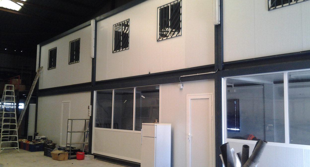 Casetas de obra casetas prefabricadas alquiler caseta for Modulos para oficina