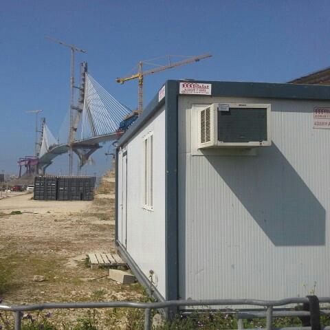 Balat oficinas de obra para el puente de la pepa balat - Oficina de obra ...