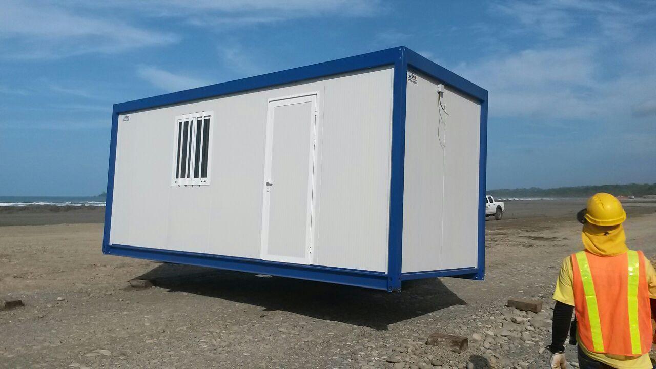 Casetas prefabricadas para obra en costa rica for Casetas obra baratas