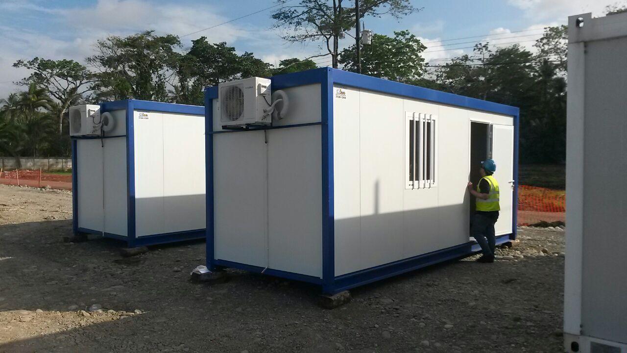 Casetas prefabricadas para obra en costa rica for Casetas para almacenaje exterior