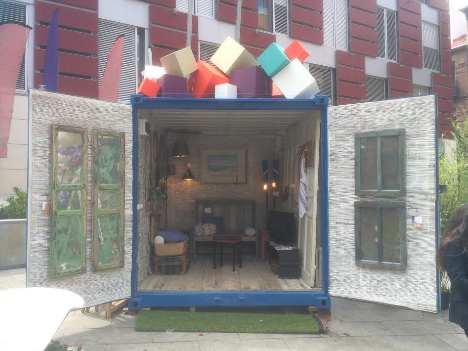 Balat contenedor mar timo para street marketing balatbalat - Contenedor maritimo casa ...